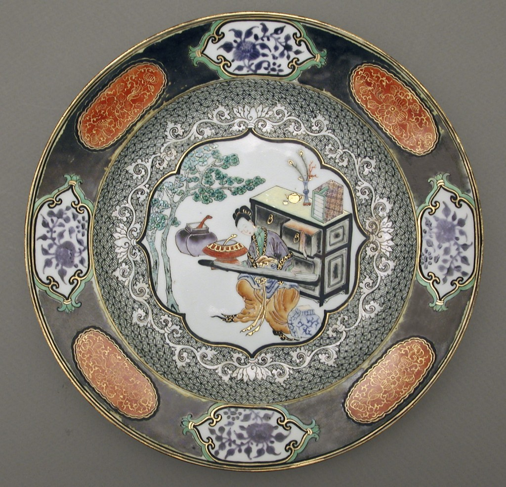 Soup plate, Chinese export porcelain