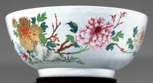 Punch bowl side 2, Chinese export porcelain