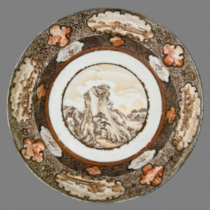 Plate, Chinese export porcelain