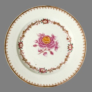 Small plate, Chinese export porcelain