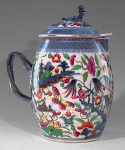 Cider jug, Chinese export porcelain